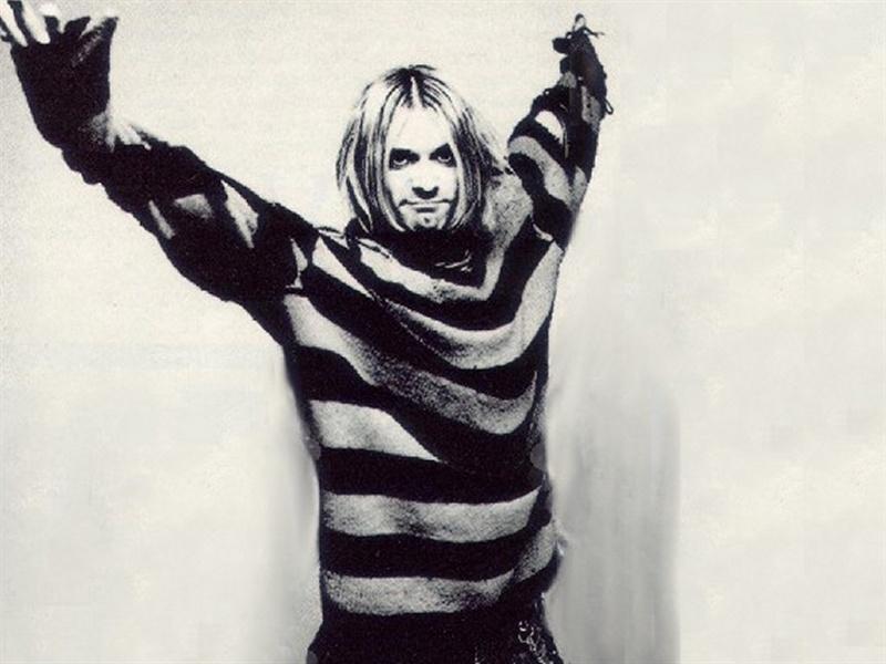Imagenes de Kurt Cobain y Anthony Kiedis