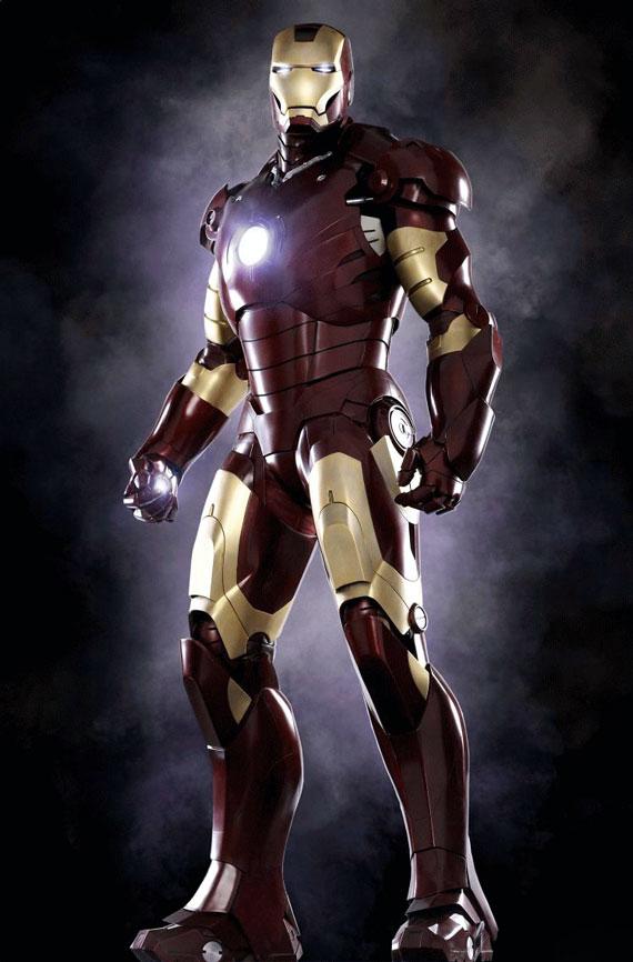 Historia de Iron Man, El Hombre de Hierro