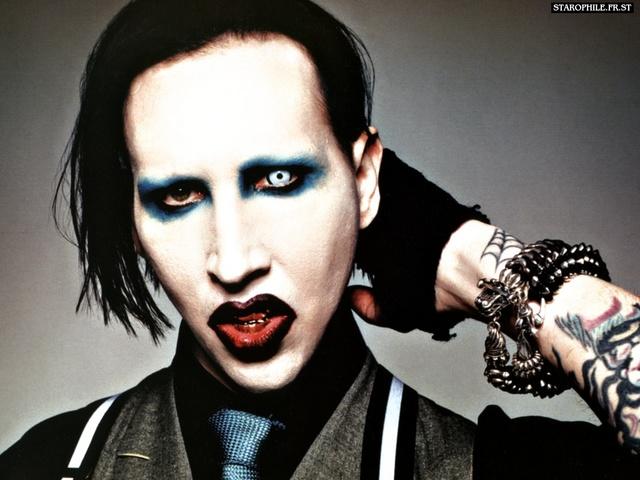 Fotos de Marilyn Manson sin maquillaje