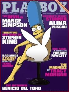 Marge en Playboy
